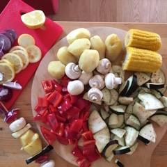 Bedarfsorientierte Ernährung Gemüsespiesse