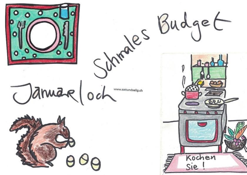 Januarloch und schmales Budget beim Essen
