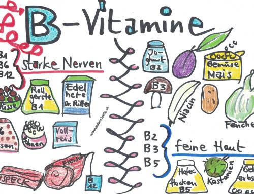 Vitamin B für starke Nerven und feine Haut